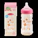 KIDS&MAMA - 日本KIDS&MAMA PPSU 寛口奶瓶(P/240ml) 粉紅色