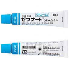 日本鳥居ZEFNART抗真菌药膏2% 10g